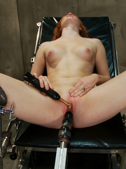 Fucking machines xxx. Amateur red head - Unique Bondage - Pic 9