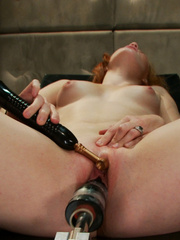 Fucking machines xxx. Amateur red head - Unique Bondage - Pic 12