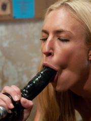 Fuck machine. Victoria White - blond, thin, - Unique Bondage - Pic 8