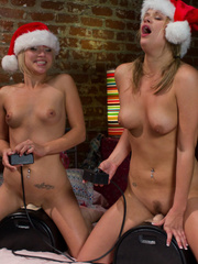 Sex machines porn. All Sybian Holiday bonus - Unique Bondage - Pic 3