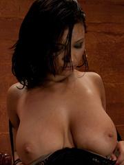 Sex machine orgasms. Brand new starlet loses - Unique Bondage - Pic 7