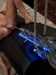 Machine sex. Beverly Hills takes a hard - Unique Bondage - Pic 4