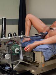 Sex machine. Charley Chase shoots a vibrator - Unique Bondage - Pic 9