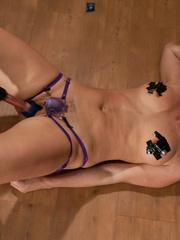 Sex machines porn. Harmony Rose made to - Unique Bondage - Pic 12