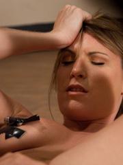 Sex machines porn. Harmony Rose made to - Unique Bondage - Pic 13