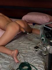 Sex machine orgasms. Hot Nanny machine fuck - Unique Bondage - Pic 5