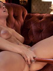 Fucking machine sex. Brunette with perfect - Unique Bondage - Pic 3