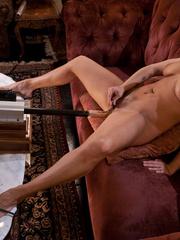 Fucking machine sex. Brunette with perfect - Unique Bondage - Pic 4