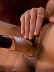 Fucking machine sex. Brunette with perfect - Unique Bondage - Pic 6