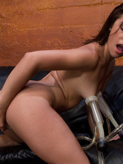 Xxx fucking machines. Kristina Rose fucked - Unique Bondage - Pic 6