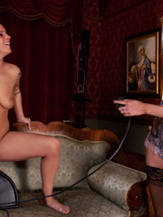 Girls sex machines. Double Updates: Sybian - Unique Bondage - Pic 2