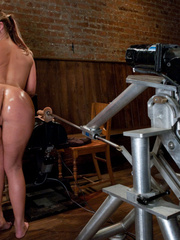 Fucking machine porn. Phoenix Marie ass - Unique Bondage - Pic 11