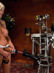 Sex machine sex. Swedish super MILF - Puma - Unique Bondage - Pic 14