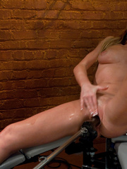 Fucking machines. Brynn Tyler machine fucked - Unique Bondage - Pic 9