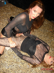 Femdom spanking. Strapon jane fucks Tgirls - Unique Bondage - Pic 14
