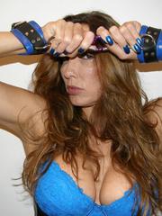 Submissive porn. Jane wearing tight black - Unique Bondage - Pic 12