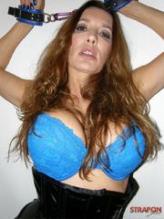 Submissive porn. Jane wearing tight black - Unique Bondage - Pic 15