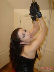 Strap sex. Great tits on Strapon Janes - Unique Bondage - Pic 4