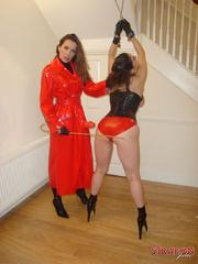 Strap sex. Great tits on Strapon Janes - Unique Bondage - Pic 5