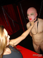 Femdom fetish. Jane lets her slave out of - Unique Bondage - Pic 7