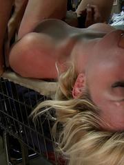 Real public porn. Publicdisgrace. - Unique Bondage - Pic 6