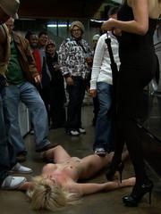 Real public porn. Publicdisgrace. - Unique Bondage - Pic 11