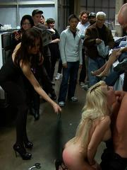 Real public porn. Publicdisgrace. - Unique Bondage - Pic 12