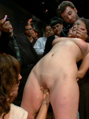 Slave girls. Hot Asian babe with big tits is - Unique Bondage - Pic 3