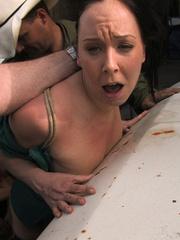Xxx bondage. Julie Night - Fucked in the - Unique Bondage - Pic 6