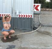 Bdsm sex. Hot MILF has her big natural tits…