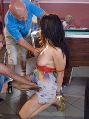 Bdsm sex. Romanian hottie Lea Lexis gets ass - Unique Bondage - Pic 8