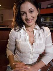 Bdsm sex. Romanian hottie Lea Lexis gets ass - Unique Bondage - Pic 14