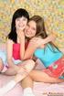 18 teen girl. Two lesbian teenie girls banging…