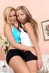 Lesbian women. Two best girlfriends enjoying…