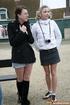 Young 18 teen. Two Dutch tourists flashing their…