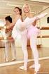 Girl on girl porn. Two lesbo ballerinas fucking…
