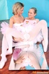 Lesbian porn. Two blonde teen ballerinas love to…