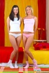 Xxx young. Two skinny girlfriends love to get…