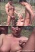 Bisexual porno. Happy Bi Cock Sucking Outdoor.
