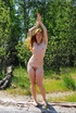Erotic online. Hippie with long red hair and hairy…