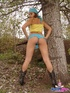 Xxx teen. Mariah admires the great outdoors but…