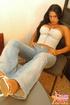 Latinas sexy. Selena in a Corset.