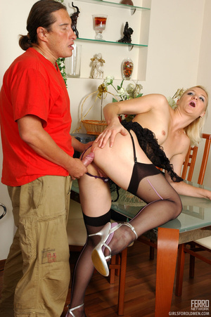 Old men fucking young girls. Unabashed g - XXX Dessert - Picture 18