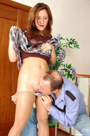 Old men fucking young girls. Flirtatious - XXX Dessert - Picture 9