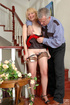 Old & young sex. Young girl caught with a…