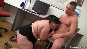 Fat sex. She's a hot piece of beautiful  - XXX Dessert - Picture 10