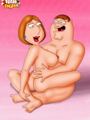 Naked toon Lois Griffin practicing her sucking and - Picture 3