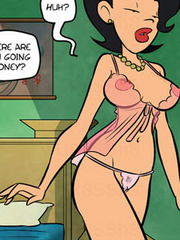 Cartoon porn. I'm goging to fuck Jake in bed - Cartoon Porn Pictures - Picture 2