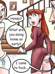 Comic porn. I came to fuck my favorite girl! - Cartoon Porn Pictures - Picture 3