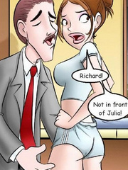 Comic porn. I came to fuck my favorite girl! - Cartoon Porn Pictures - Picture 5